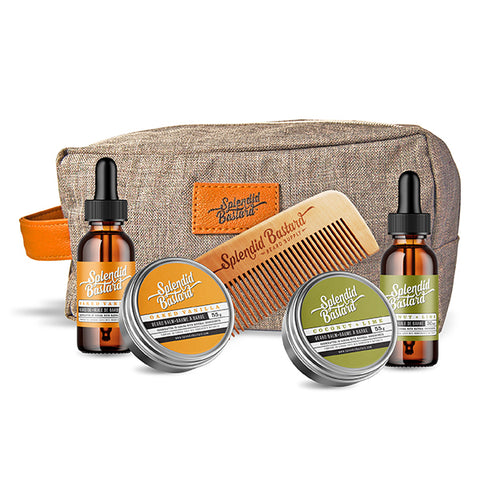 Set: Beard Care Travel Kit (large)