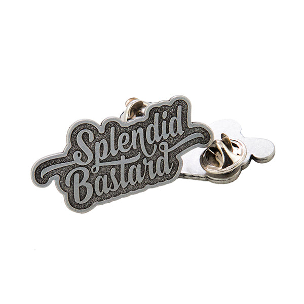 Splendid Bastard Pewter Lapel Pin