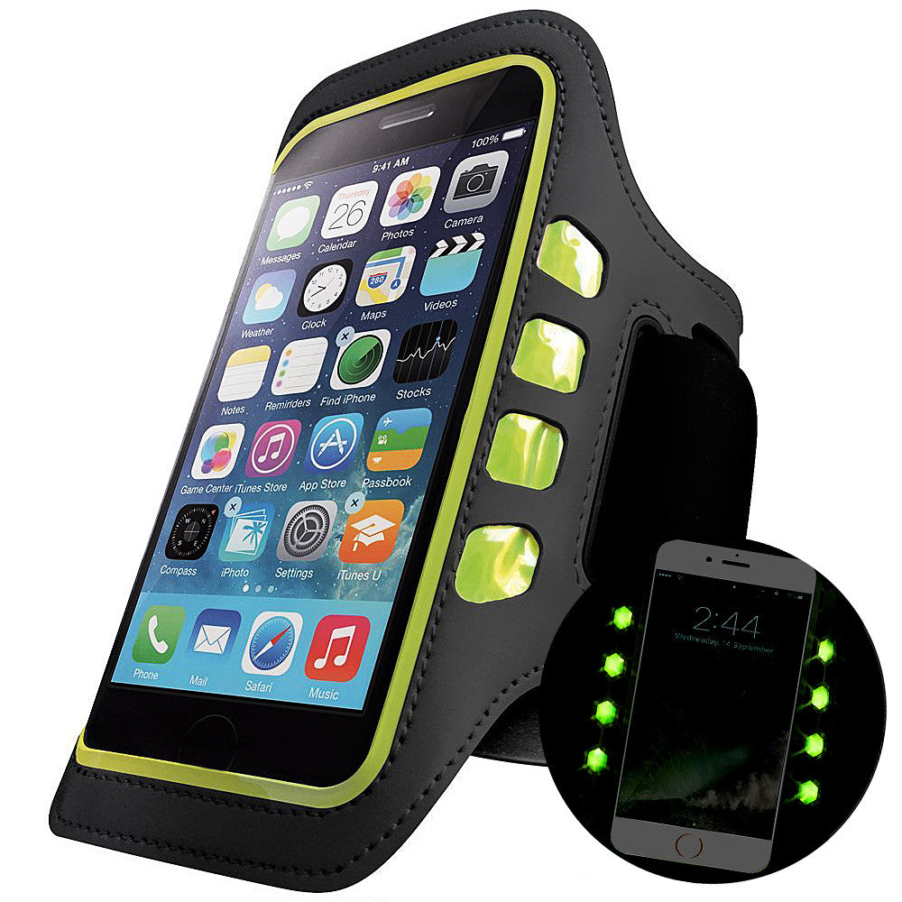 BX Universal Arm Band LED Phone Holder