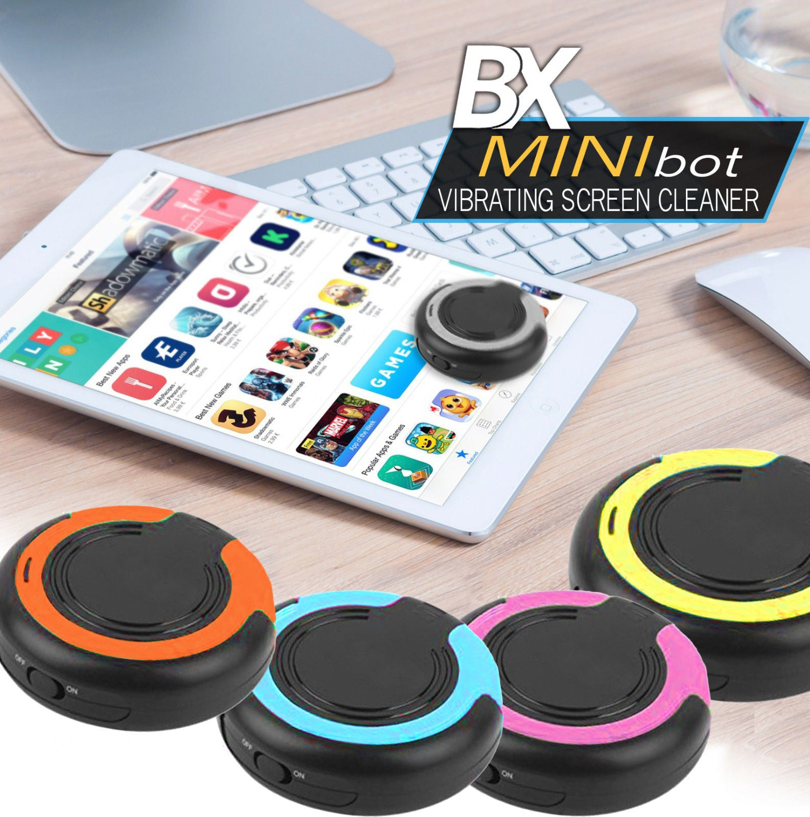 BX Mini Bot Vibrating Screen Cleaner