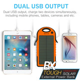 BX 10 Tough Solar Power Bank Solar and AC Charging LED Light 10,000 mAh