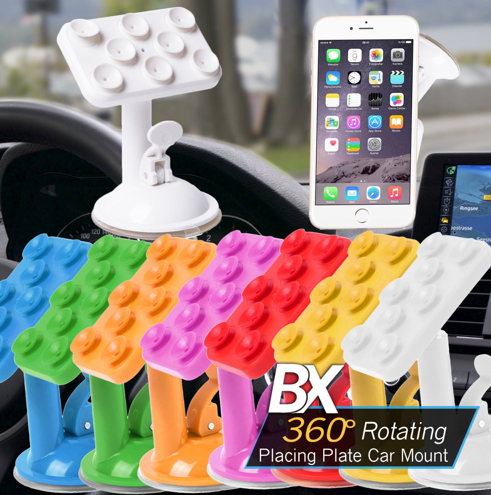 BX 360° Rotating Suction Cup