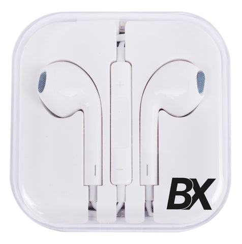 BX 3.5mm EarBuds With Remote and Mic