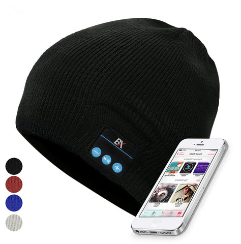 BX Simple Beanie Built in Wireless Earphones
