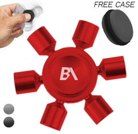 BX ALLOY FIDGET SPINNER DEVELOPMENT HAND TOY STRESS REDUCER /EDC/ DESK FOCUS