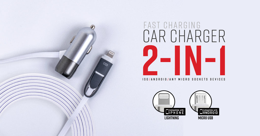 Universal Vehicle Charger - 3 in 1