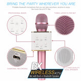 BX VOX WIRELESS KARAOKE MICROPHONE AND SPEAKER