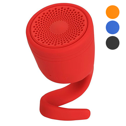 BX 2in1 IPX7 Waterproof Tadpole Silicone Bluetooth Handsfree Speaker