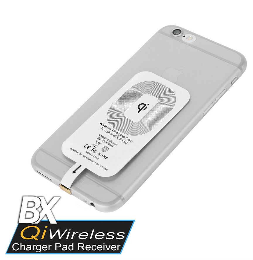 BX Wireless Receiver for mobile devices with 8 pin connector