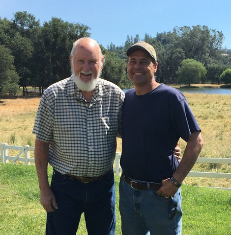 Bob & Phil at Our Lady's Ranch
