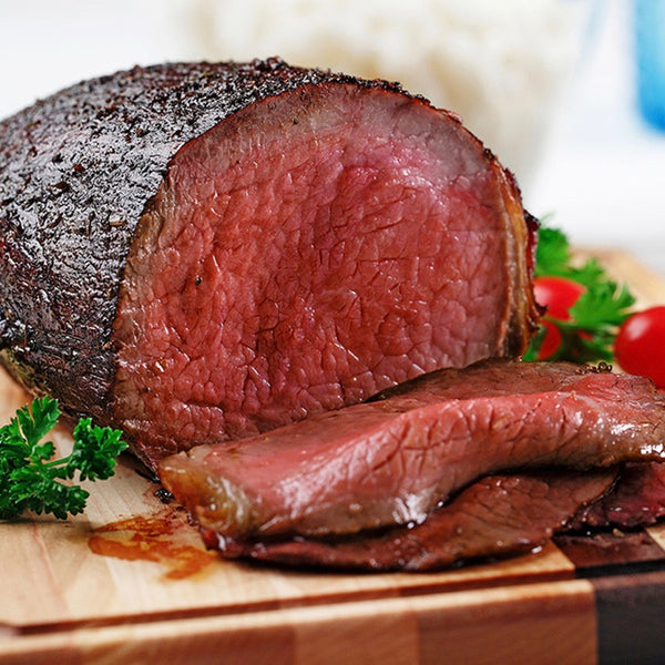 Eye of Round Roast (3 lbs) - Family Friendly Farms Grass Fed and Pasture Raised Meats