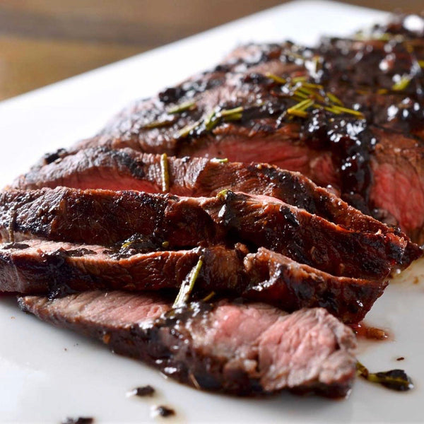 Flat Iron Steak (1.2 lbs) - Family Friendly Farms Grass Fed and Pasture Raised Meats