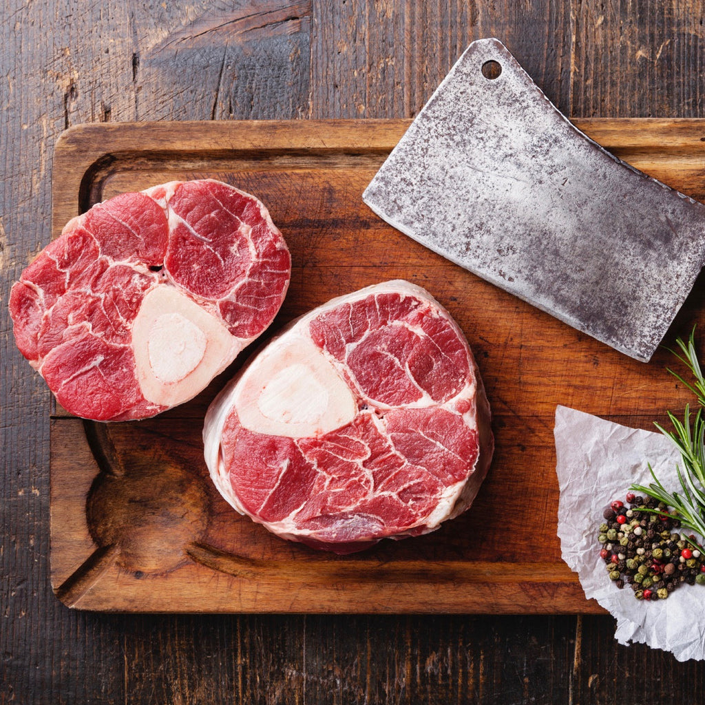 Beef Shanks (Ossobuco) - Family Friendly Farms Grass Fed and Pasture Raised Meats