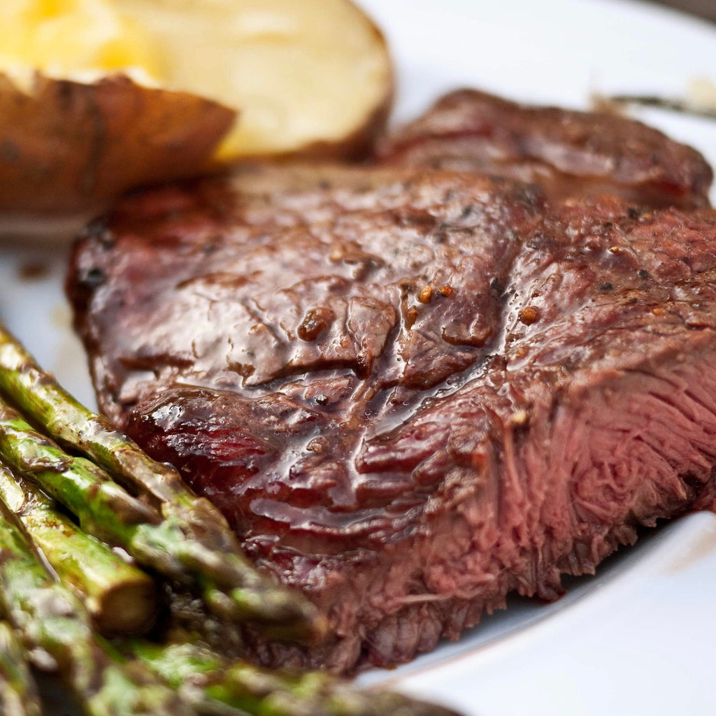 Top Sirloin Steak (1.15 lbs) - Family Friendly Farms Grass Fed and Pasture Raised Meats