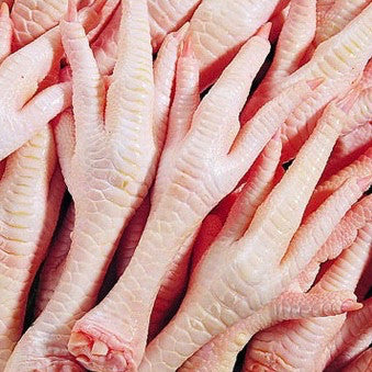 Chicken Feet (4.0 lbs) - Family Friendly Farms Grass Fed and Pasture Raised Meats