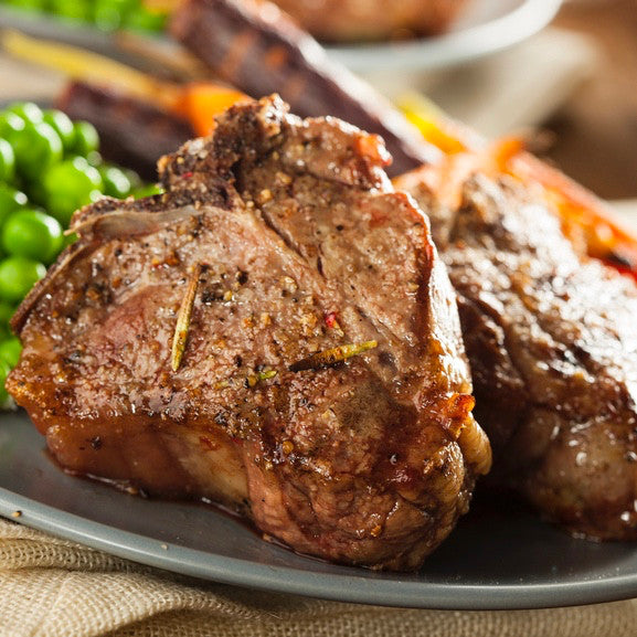 Lamb Loin Chops (1.0 lbs) - Family Friendly Farms Grass Fed and Pasture Raised Meats