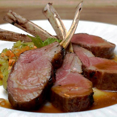 Rack of Lamb (.70 lbs) - Family Friendly Farms Grass Fed and Pasture Raised Meats