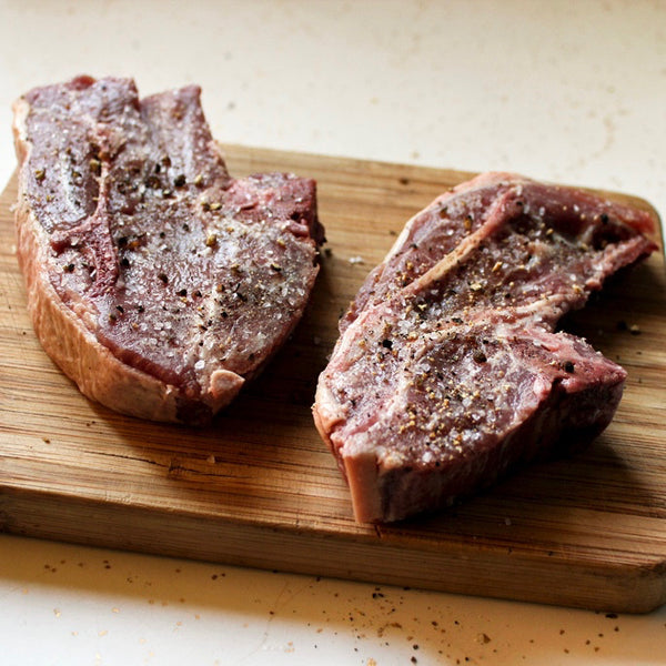 Lamb Shoulder Chops (1.7 lbs) - Family Friendly Farms Grass Fed and Pasture Raised Meats