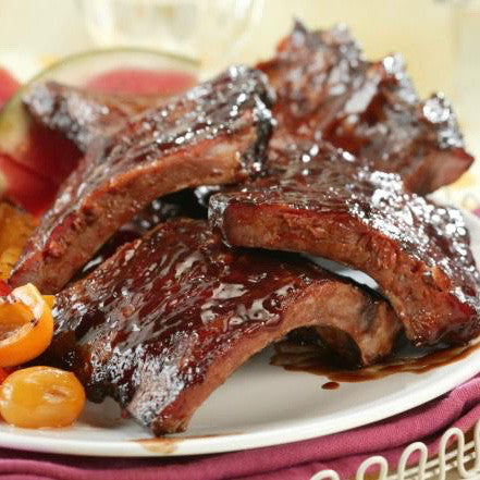 Baby Back Ribs (1.0 lbs) - Family Friendly Farms Grass Fed and Pasture Raised Meats