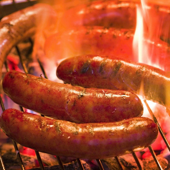 Bratwurst Links (1.1 lbs) - Family Friendly Farms Grass Fed and Pasture Raised Meats