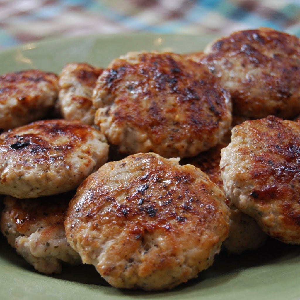 Country-Style Sausage (0.90 lbs) - Family Friendly Farms Grass Fed and Pasture Raised Meats