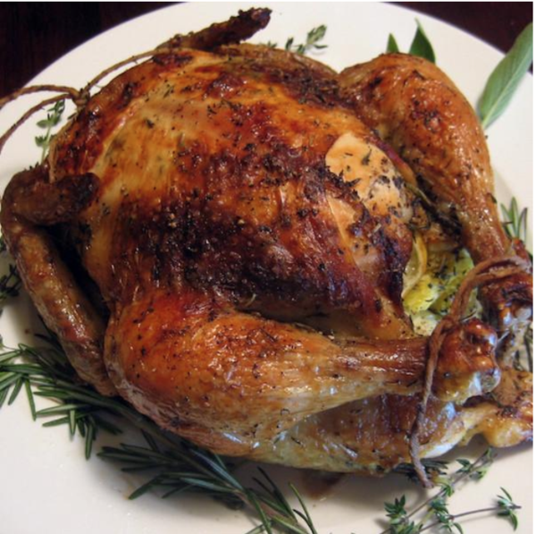 Large Whole Chicken (5.0 lbs) - Family Friendly Farms Grass Fed and Pasture Raised Meats