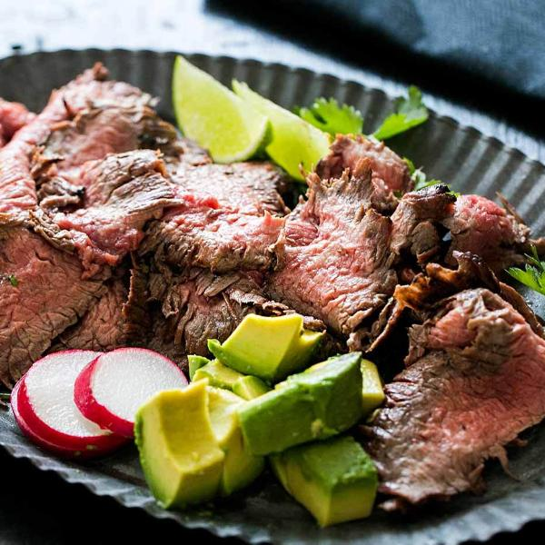 Carne Asada (1 lbs) - Family Friendly Farms Grass Fed and Pasture Raised Meats