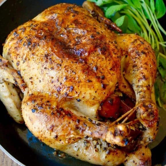 X-Large Whole Chicken 5.0 lbs - Family Friendly Farms Grass Fed and Pasture Raised Meats
