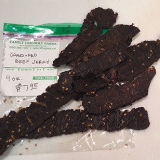 Grass-Fed Beef Jerky - Family Friendly Farms Grass Fed and Pasture Raised Meats