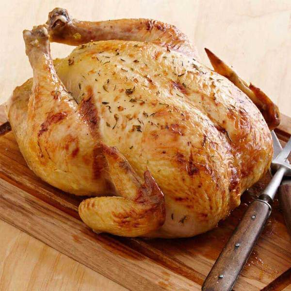 Medium Whole Chicken (4.5 lbs) - Family Friendly Farms Grass Fed and Pasture Raised Meats