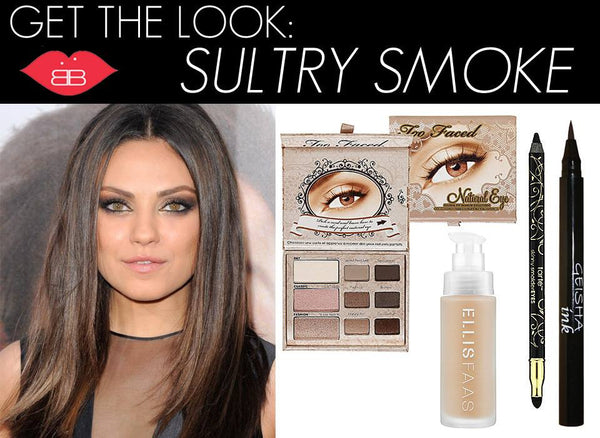 Get the look: sultry smoke