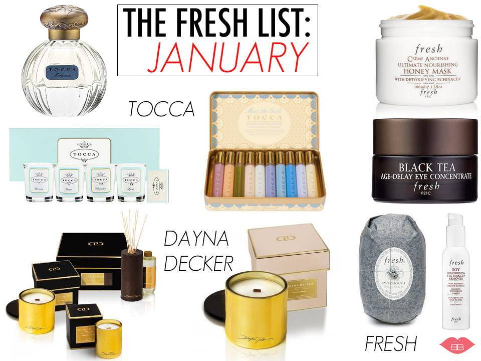The fresh list: january