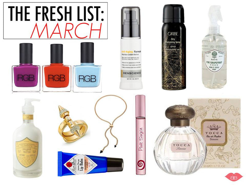 The fresh list: march