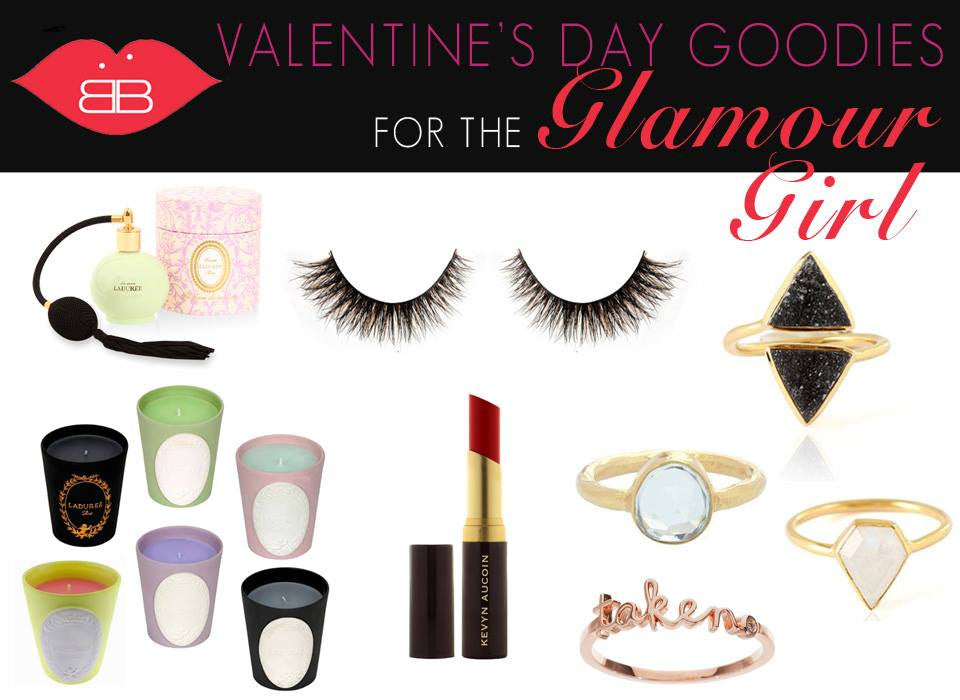 valentine's day goodies for the glamour girl