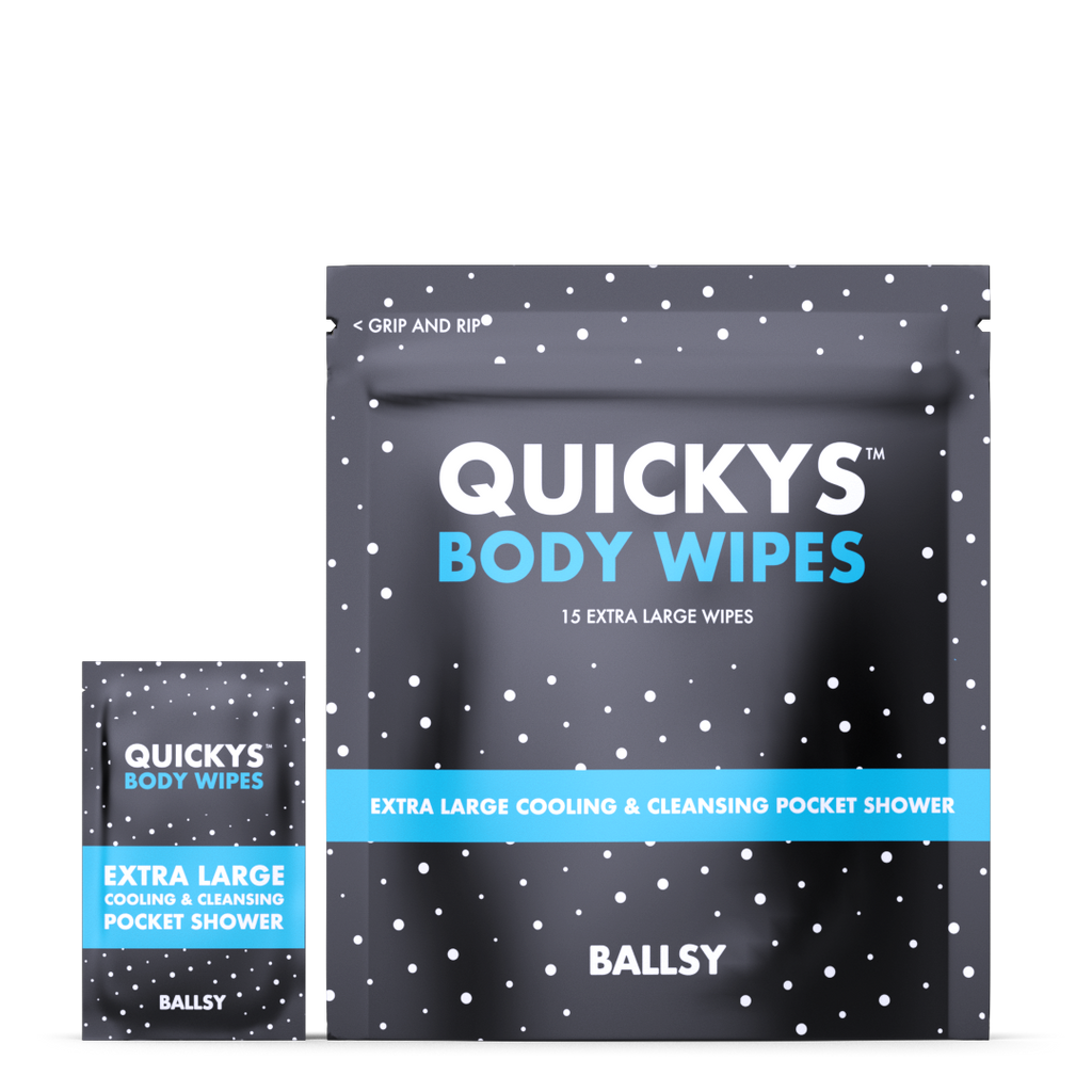 Quickys Body Wipes || ballsy || beautybar
