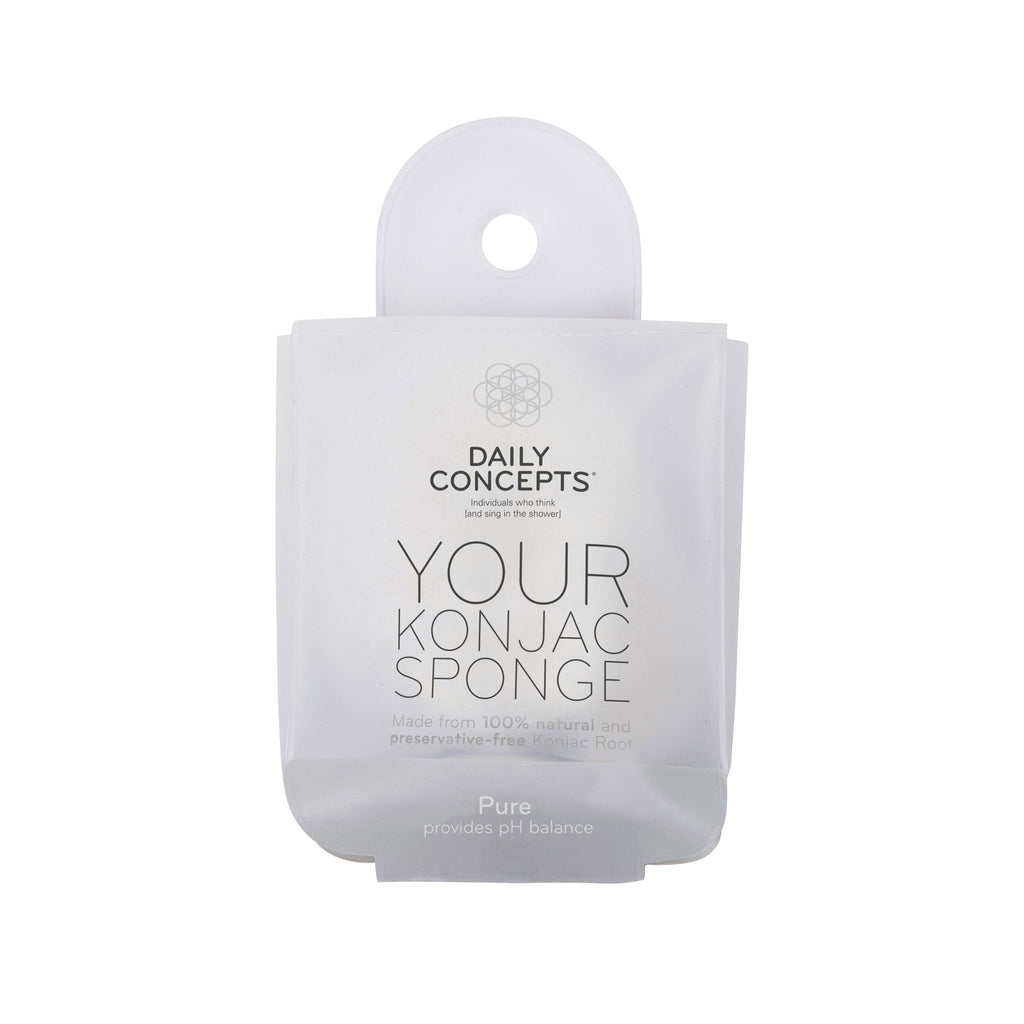Your Konjac Sponge - Pure || Daily Concepts || Beautybar