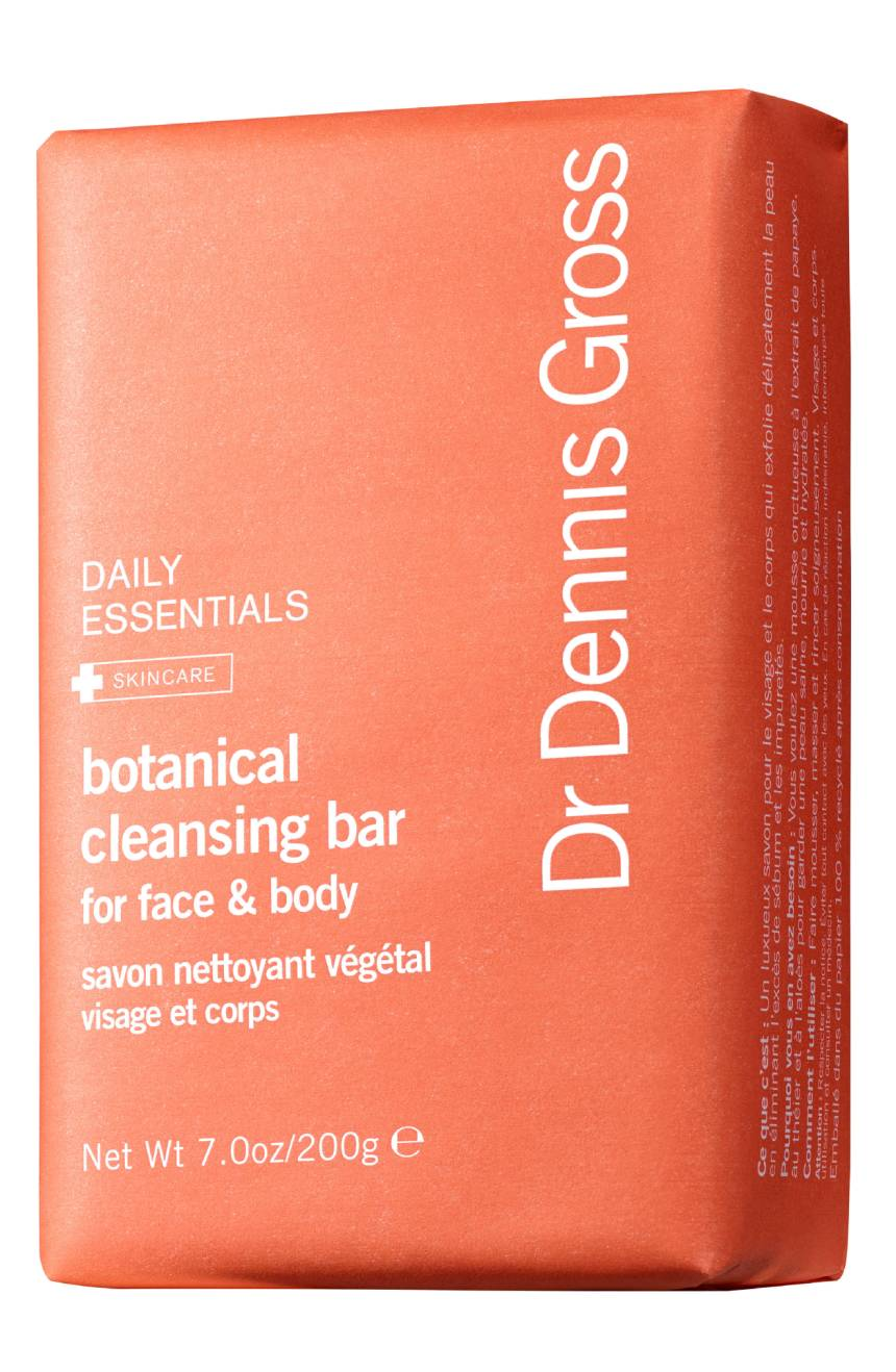 botanical cleansing bar for face & body || dr. dennis gross
