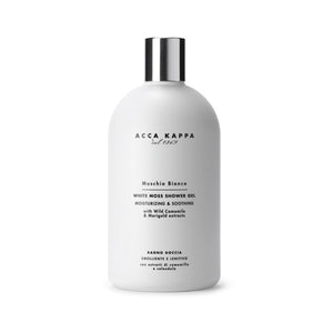 acca kappa white moss shower gel