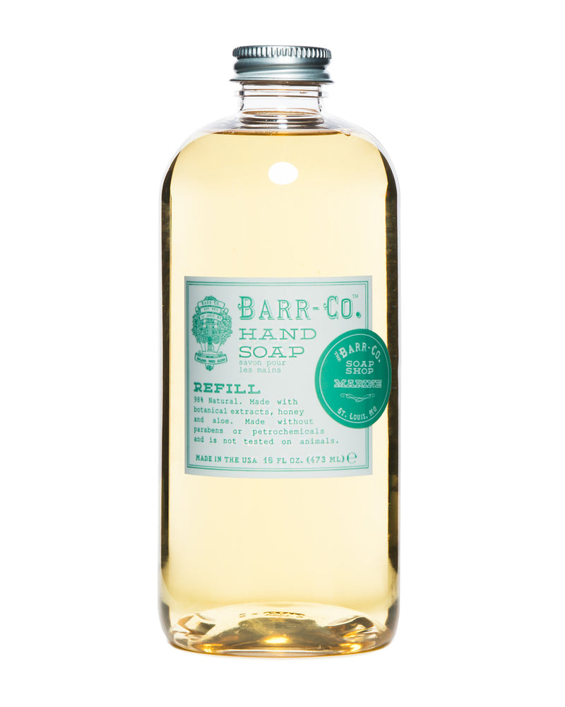 liquid soap refill | marine || barr-co || beautybar