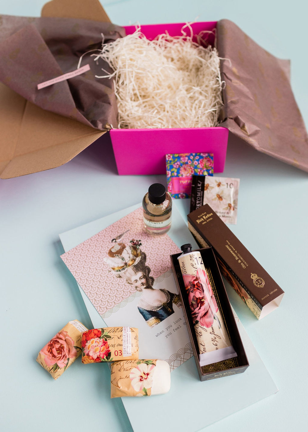 delightful gift & care package || tokyomilk || beautybar