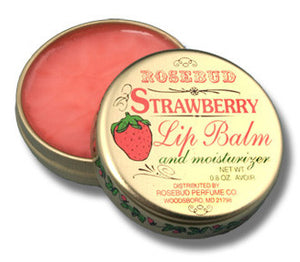 smith's strawberry lip balm || rosebud perfume co.