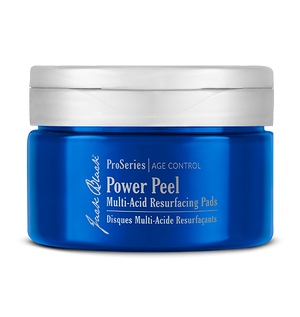 power peel multi-acid resurfacing pads || jack black