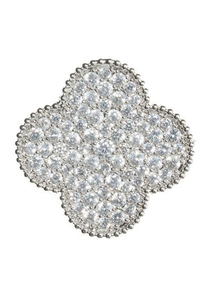 large clover brooch || theia || beautybar