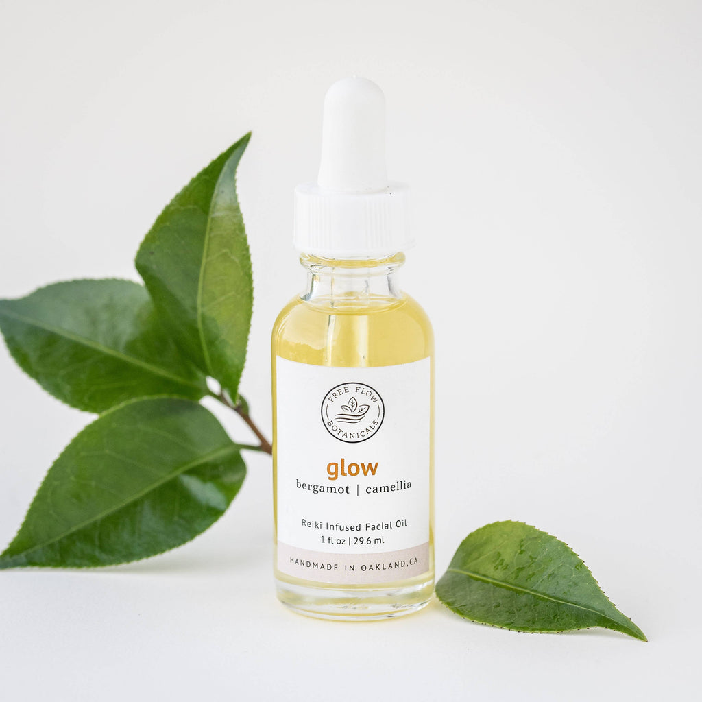Glow Facial Oil || free flow botanicals || beautybar