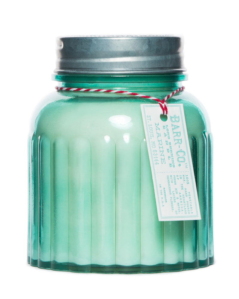 apothecary jar candle | marine || barr-co || beautybar