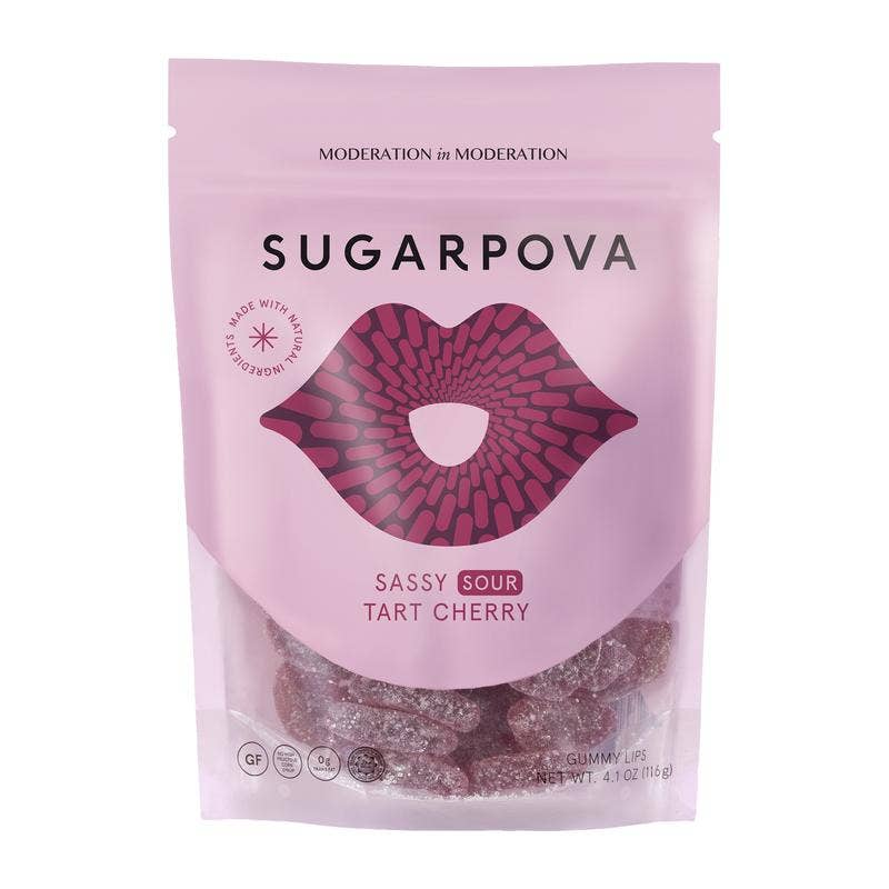 Sassy Sour Gummy Lips - 4.1 oz || sugarpova || Beautybar