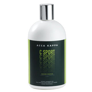 acca kappa c sport cedar shower gel