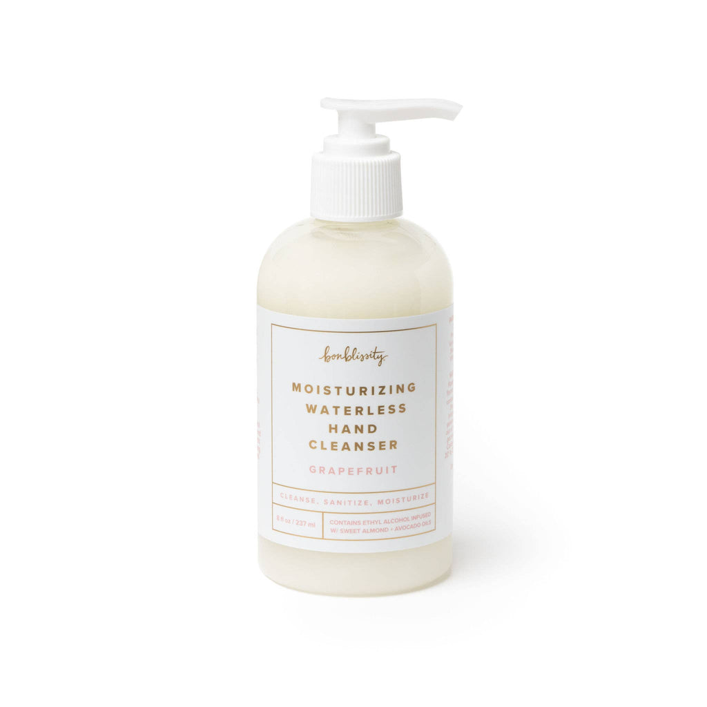 Moisturizing Waterless Hand Cleanser Grapefruit | bonblissity