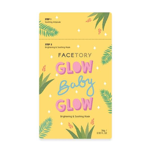 Glow Baby Brightening and Soothing Mask || FaceTory || BB