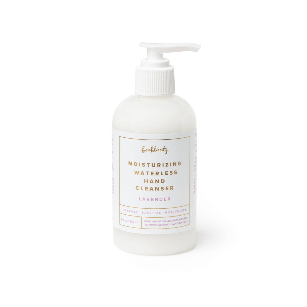 Moisturizing Waterless Hand Cleanser - Lavender | bonblissity